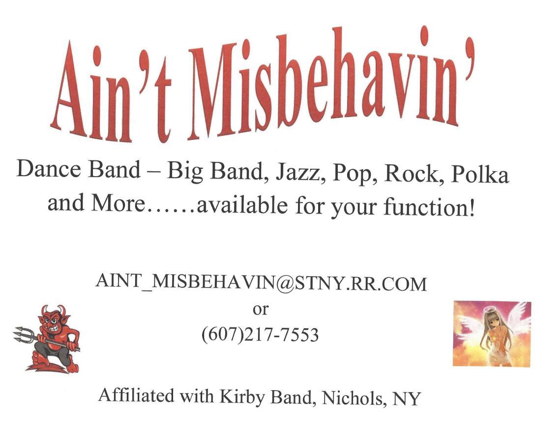Ain't Misbehavin' Logo-4